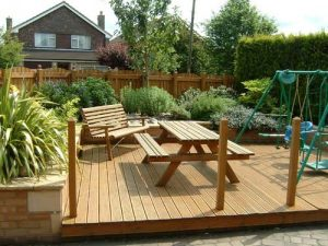 Garden Decks and Garden Decking Solihull by Fencing Solihull