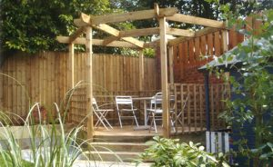 Pregodas, Gazebos and Decking Solihull by Fencing Solihull